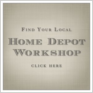 The Home Depot Workshop Registration Link by Build Basic