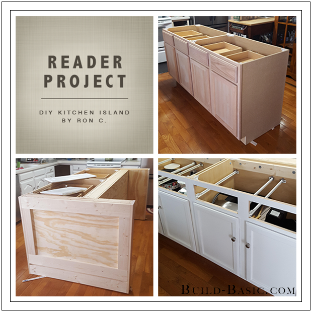 Build Basic DIY Kitchen Island by Ron C - Reader Project 2