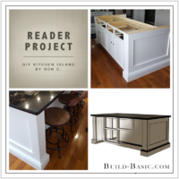 Build Basic DIY Kitchen Island by Ron C - Reader Project