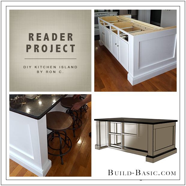 Reader Project – DIY Kitchen Island ‹ Build Basic