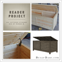 Build Basic DIY Outdoor Storage Box by Ronan M - Reader Project