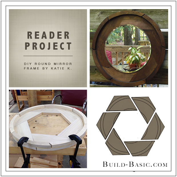 Build Basic DIY Round Mirror Frame by Katie K - Reader Project
