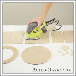 DIY Desk Supplies Lazy Susan by Build Basic - Step 10