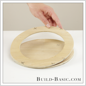 DIY Desk Supplies Lazy Susan by Build Basic - Step 11