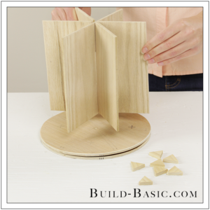 DIY Desk Supplies Lazy Susan by Build Basic - Step 14