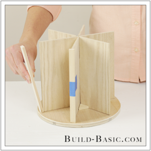 DIY Desk Supplies Lazy Susan by Build Basic - Step 15