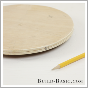 DIY Desk Supplies Lazy Susan by Build Basic - Step 3