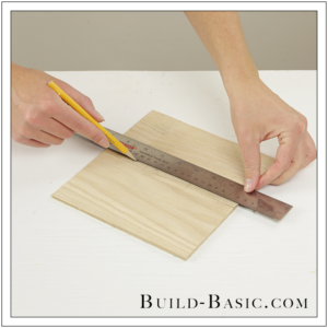 DIY Desk Supplies Lazy Susan by Build Basic - Step 5
