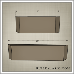 DIY Shadow Box State Frame by Build Basic - Step 1