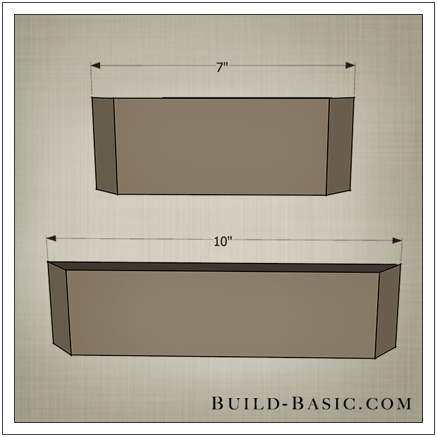 diy shadow box state frame by build basic step 1