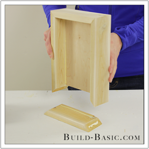 DIY Shadow Box State Frame by Build Basic - Step 6