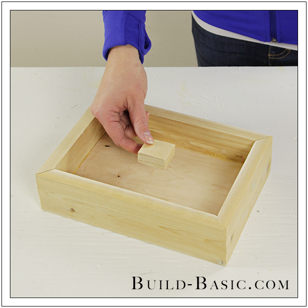 Build a diy shadow box frame build basic for Building box steps