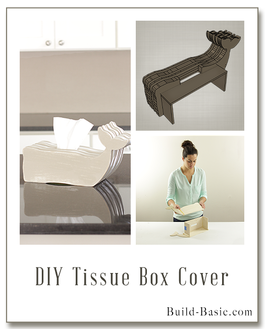 Build a DIY Tissue Box Cover – Building Plans by @BuildBasic www.build-basic.com