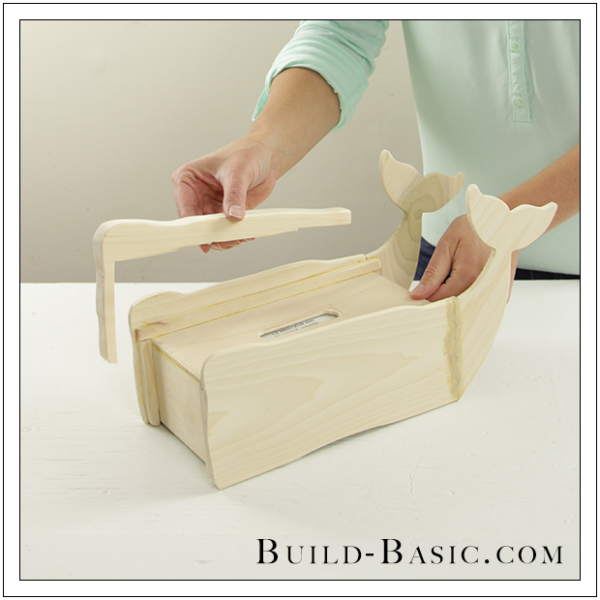 DIY Tissue Box Cover by Build Basic - Step 13