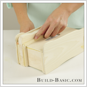 DIY Tissue Box Cover by Build Basic - Step 14