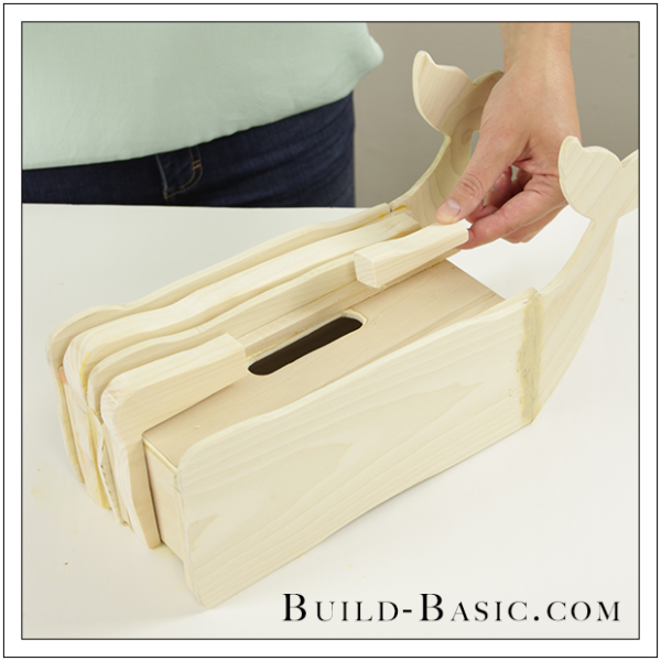 DIY Tissue Box Cover by Build Basic - Step 15
