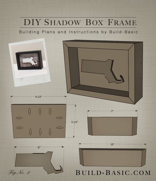 build a diy shadow box frame building plans by buildbasic wwwbuild
