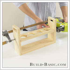 DIY Beer Flight Holder by Build Basic - Step 8