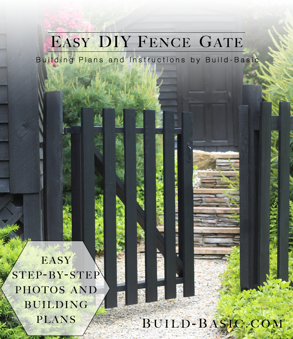 Build An Easy Diy Fence Gate Build Basic
