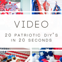 Patriotic DIY Roundup by Build Basic @BuildBasic www.build-basic.com