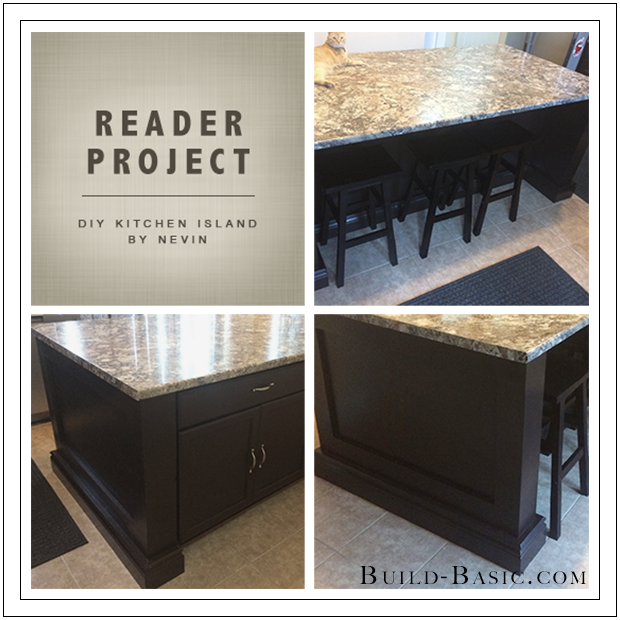 Build Basic DIY Kitchen Island by Nevin 2 - Reader Project