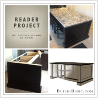 Build Basic DIY Kitchen Island by Nevin - Reader Project