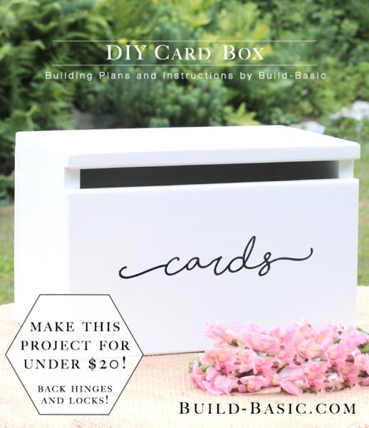 Build A Diy Card Box Build Basic