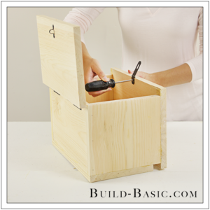 Build a DIY Card Box – Building Plans by @BuildBasic www.build-basic.com
