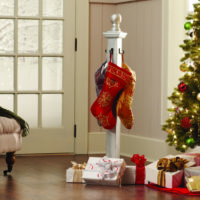 Home Depot DIY Workshop - Stocking Post