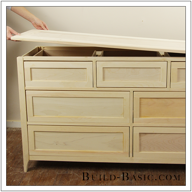 Build A Diy 7 Drawer Dresser By Build