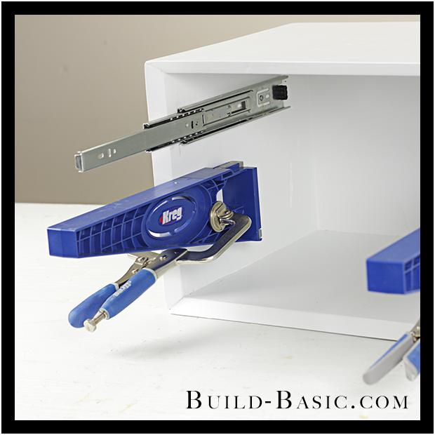 Drawer Slide Jig Drawer Drawer Slides Jig Euro Drawer: How To Use A Kreg Drawer Slide Jig ‹ Build Basic