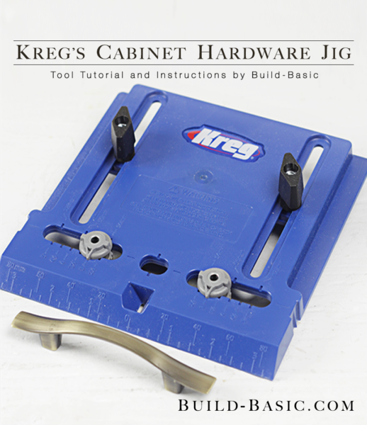 How To Use A Kreg Cabinet Hardware Jig Build Basic
