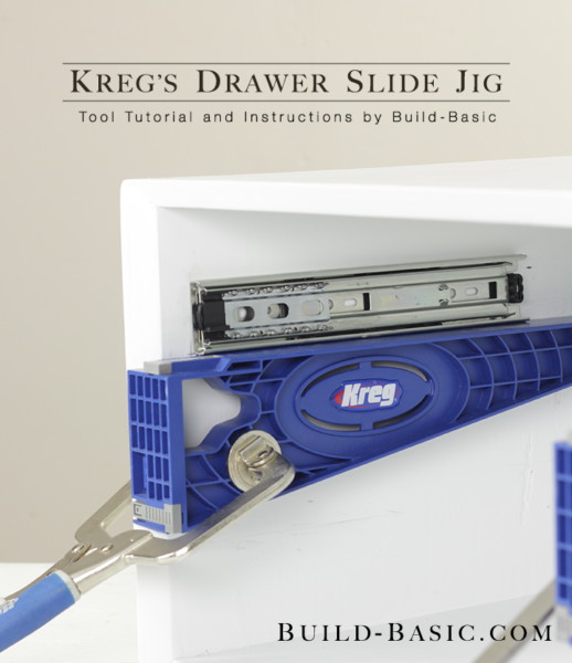 How To Use A Kreg Drawer Slide Jig Build Basic