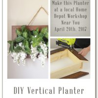 DIY Vertical Planter by Build Basic - Home Depot Workshops