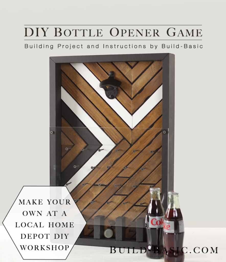 Home Depot Virtual Party Diy Bottle Opener Game Build Basic