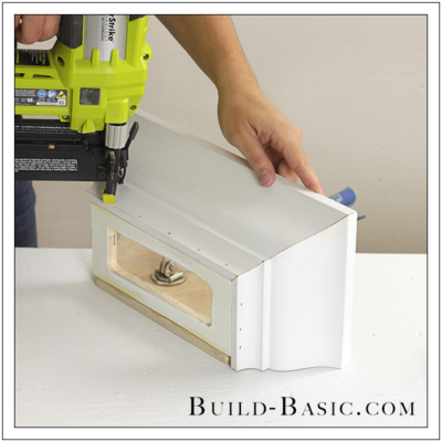 DIY Paper Towel Dispenser by Build Bas - Step 3