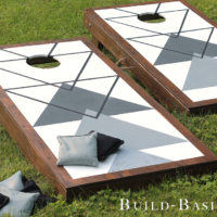 DIY Cornhole Game by Build Basic - BRANDED