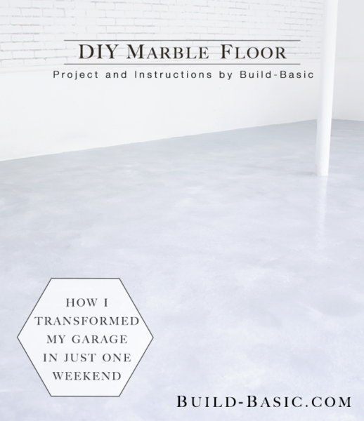 How to DIY Marble Floor by @BuildBasic - Opener Image