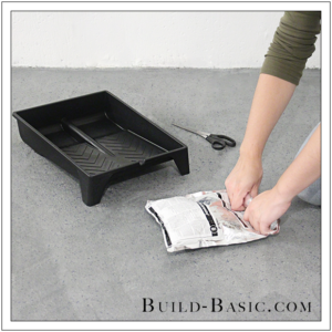 How to DIY Marble Floor by @BuildBasic - Step 11