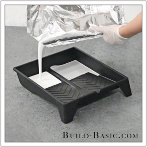 How to DIY Marble Floor by @BuildBasic - Step 12