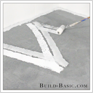How to DIY Marble Floor by @BuildBasic - Step 15