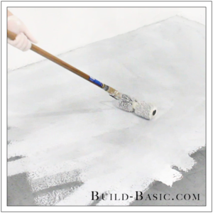 How to DIY Marble Floor by @BuildBasic - Step 16