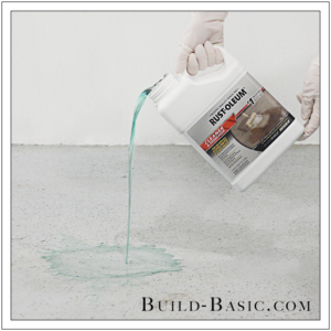 How to DIY Marble Floor by @BuildBasic - Step 2