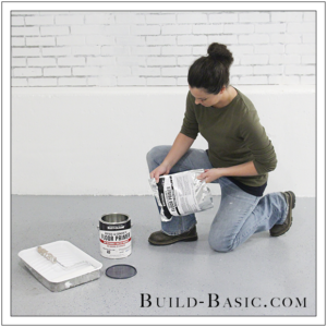 How to DIY Marble Floor by @BuildBasic - Step 7