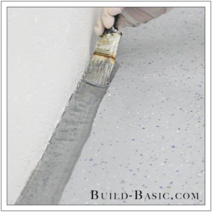 How to DIY Marble Floor by @BuildBasic - Step 8